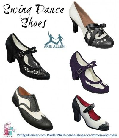 Make Any Shoes into Vintage Dance Shoes | Swing dance shoes .