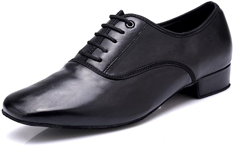 Amazon.com   DLisiting Latin Dance Shoes Mens Ballroom Leather .
