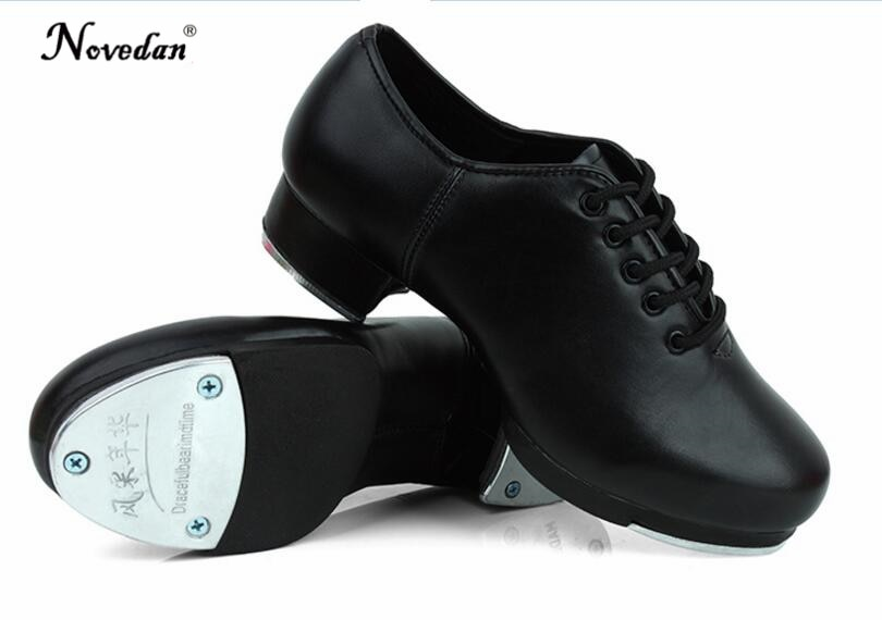 Size 27 45 Adult Men Children Boy Tap Dance Shoes Cow Leather or .