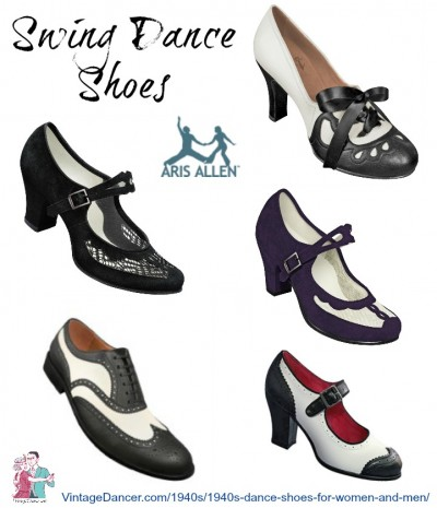 Vintage Dance Shoes- Where to Buy Th
