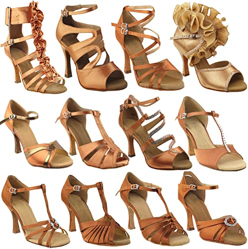 Amazon.com | 50 Shades of TAN Dance Shoes for Women 1: Latin .