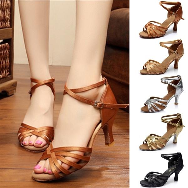 2018 Women Professional Dancing Shoes Ballroom Dance Shoes Ladies .
