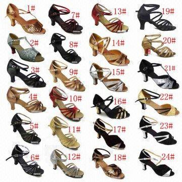 latin dance shoes- women dance shoes -lady ballroom dance shoes .