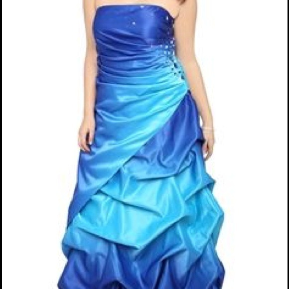 Best Debs Prom Dresses Photos 2017 Blue Maize Gold Dress Genuine 3 .