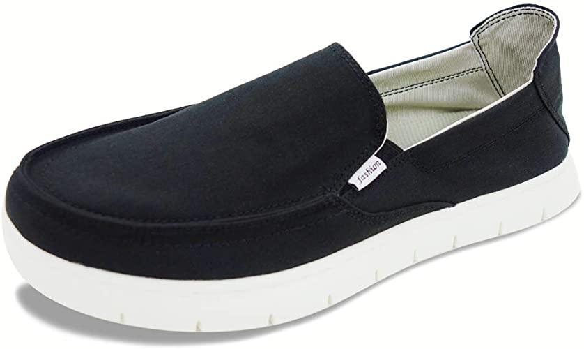 Amazon.com | Boat Shoes Men Deck-Canvas-Loafers-Slipon-for Mens .