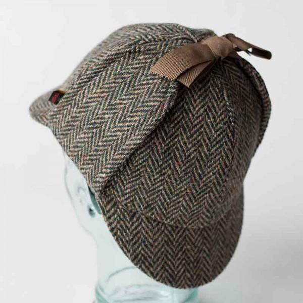 Sherlock Holmes Hat | Deerstalker Hat | Tweed Hat | Hatman of Irela