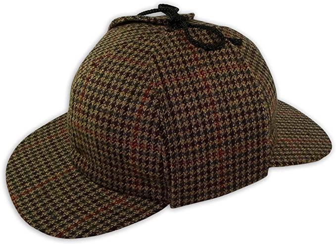 Pasquale Cutarelli Mens Wool Tweed Deerstalker Hat at Amazon Men's .