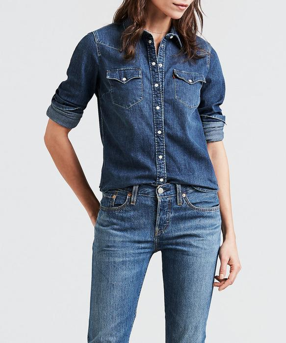 Levi's Women's Ultimate Western Denim Shirt - Lotta Love — Dave's .