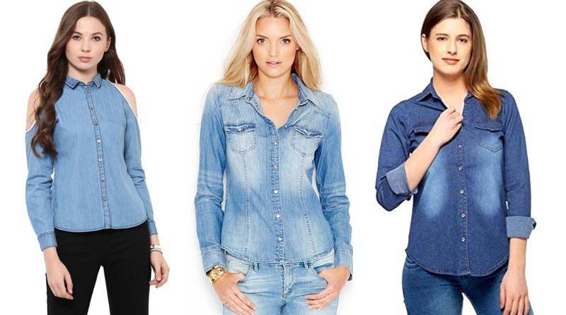 Ideal Ways to Wear a Perfect Light Blue Denim Shirt | Woikar .