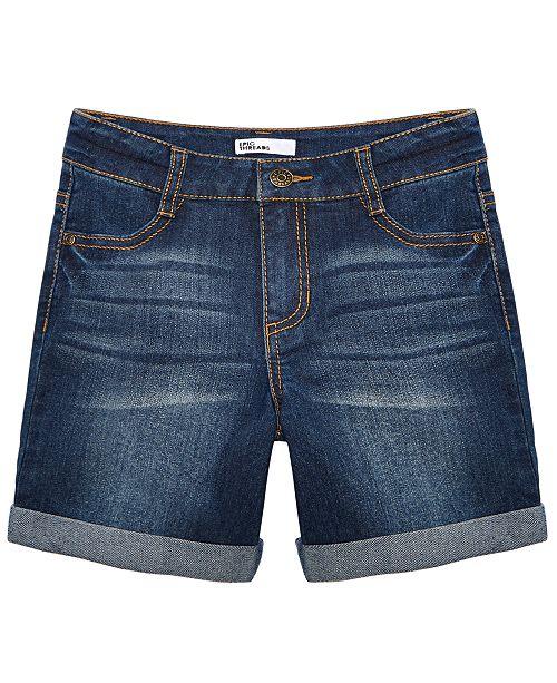 Epic Threads Big Girls Cuffed Denim Shorts, Created for Macy's .