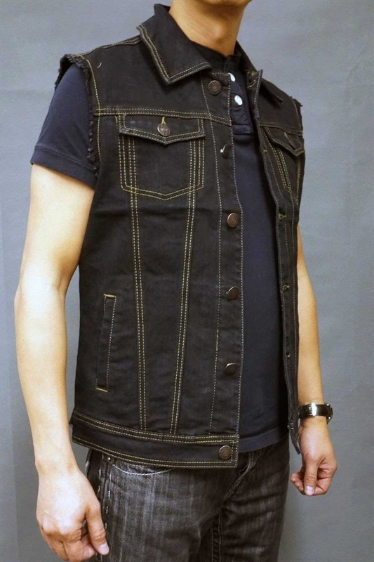 Men's Denim Vest | Naked City Clothi