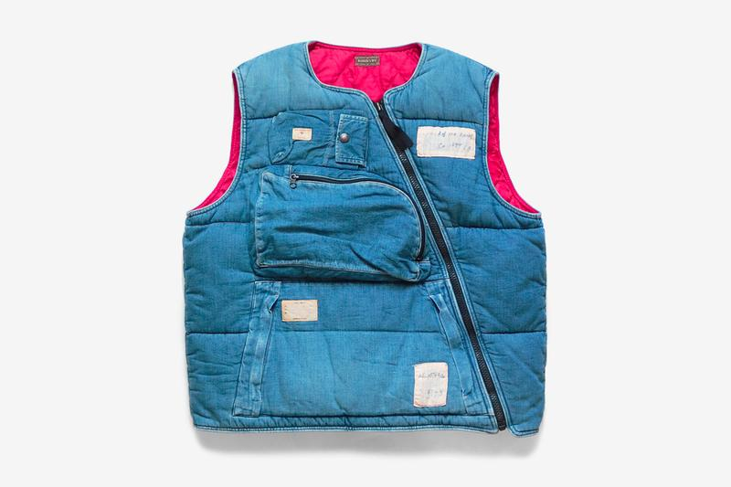 Kapital 8oz Denim Army Flight Vest Release Info | HYPEBEA