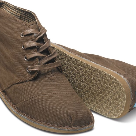 Toms Shoes | Mens Desert Boots | Poshma
