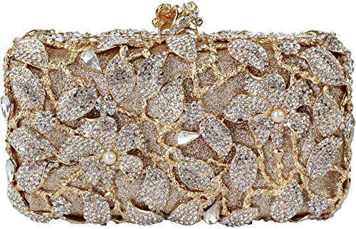 Yilongsheng 2016 New Womens Pearl Flower Designer Clutch .