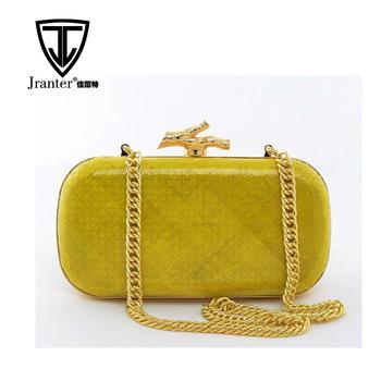 Evening Bags Wholesale Handmade Designer Clutch Bag For Women Gold .