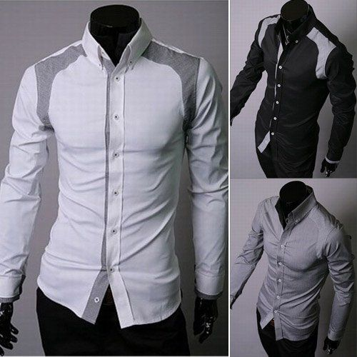 Aliexpress.com : Buy Men White Shirt Men Stylish Shirt Fashion .