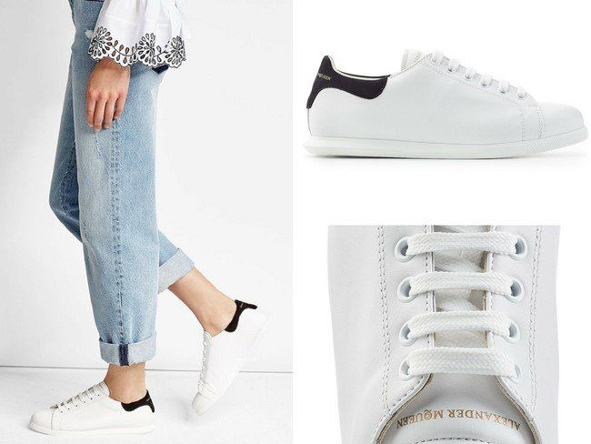 25 Gorgeous White Designer Sneakers for Women in 2018 | Sneakers .