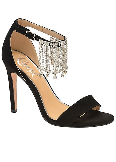 Diamante Party Shoes by Ravel | Look Aga