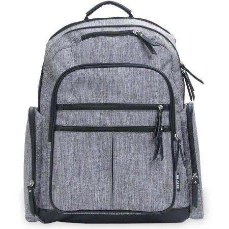 Baby Boom Cross Hatch Backpack Diaper Bag - Walmart.com - Walmart.c