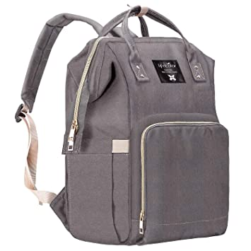 Amazon.com : Lifecolor Diaper Bag Multi-functional Nappy Bags .