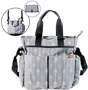 Amazon.com : Diaper Bag for Baby By Zohzo - Diaper Tote Bag With .