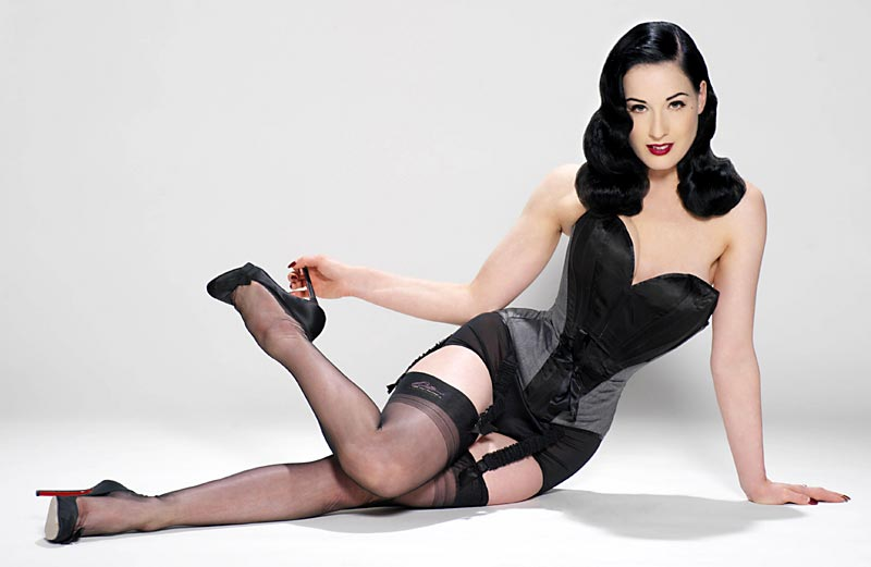 Dita Von Teese unveils new lingerie li