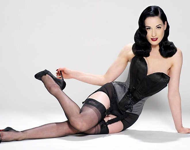 Dita Von Teese to design lingerie for all siz