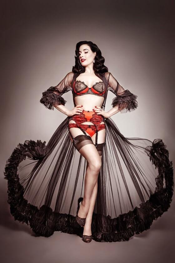 dita-von-teese-lingerie-13 - Corsets & Coutu