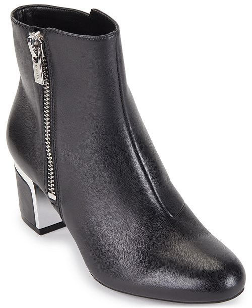 DKNY Crosbi Booties, Created for Macy's & Reviews - Boots .