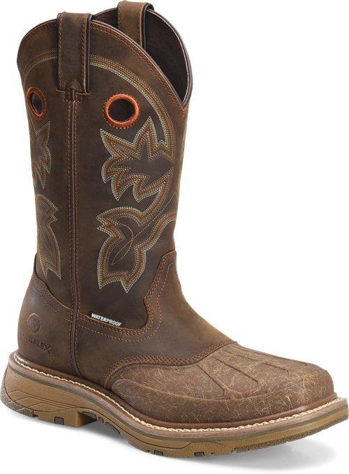 "Double H Boot Carlos DH5149 Men's 13"" Workflex Waterproof ."