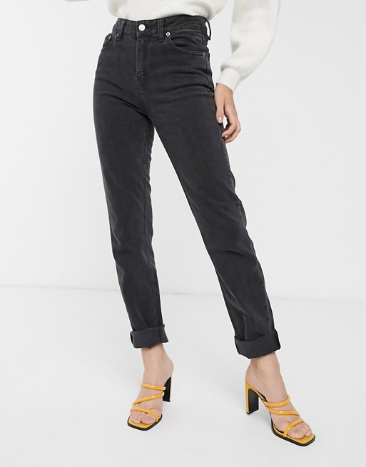 Dr Denim stevie mid rise straight leg jean | AS