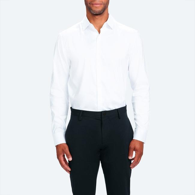 Aero Performance Men S Dress Shirt White Nylon Ministry Of Supply .