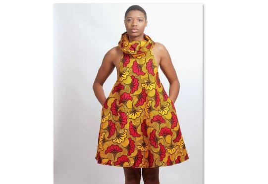 Yellow Ankara Dress Style | African Clothing Women Dress | Africa .