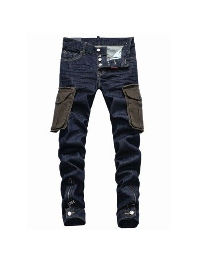 Dsquared2 Pocket Cargo Denim Pants is available in Dsquared Sale .