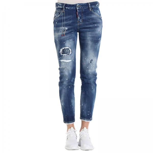 Jeans Dsquared2 Women | Jeans Women Dsquared2 S72LB0073 S30342 .