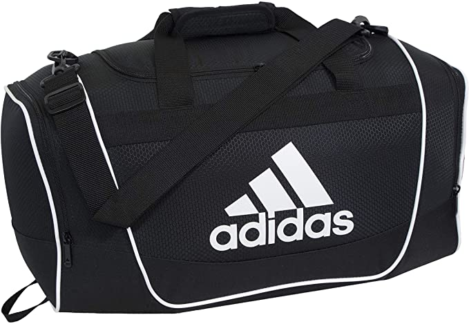 Amazon.com: Adidas Diablo Small Duffel Bag - Black/White: Clothi
