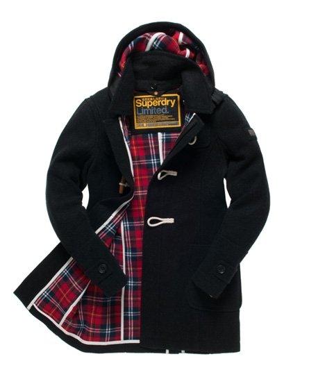 Superdry classic duffle coat - Men's Jacke