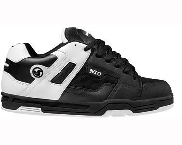 DVS Skate Shoes Bexley SM2 Black White | Dvs shoes, Skater shoes .