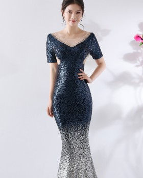 Party long formal dress ladies evening dress for women YW62445 .