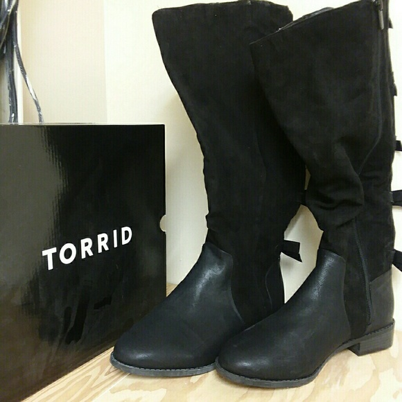 torrid Shoes | Size 11 Extra Wide Calf Boots | Poshma