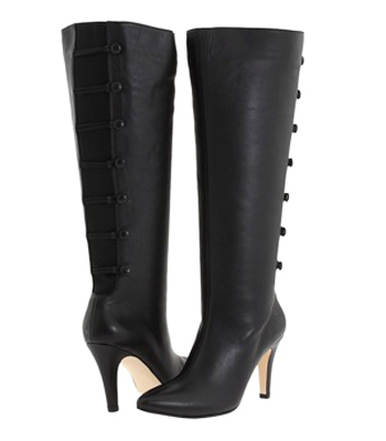 Ros Hommerson Women's Tanya Extra Wide Calf Boot (Black) – Large .