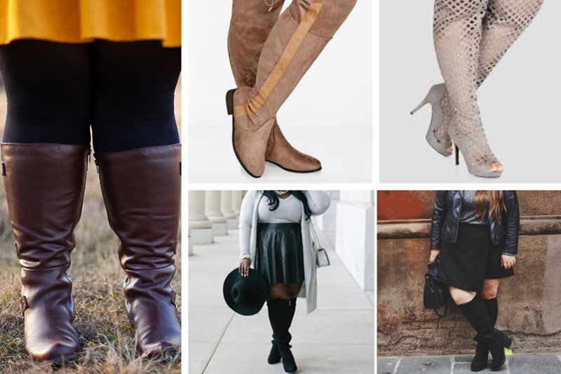 Top 15 Websites to Shop for Plus-Size Wide Calf Boo