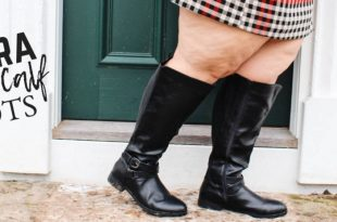 Plus Size Extra Wide Calf Boots - Ready To Sta