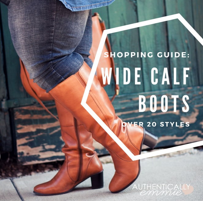 Wide and Extra Wide Calf Boots for 20