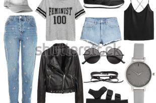Et Stylish Clotheswoman Trendy Fashion Clothes Stock Photo (Edit .