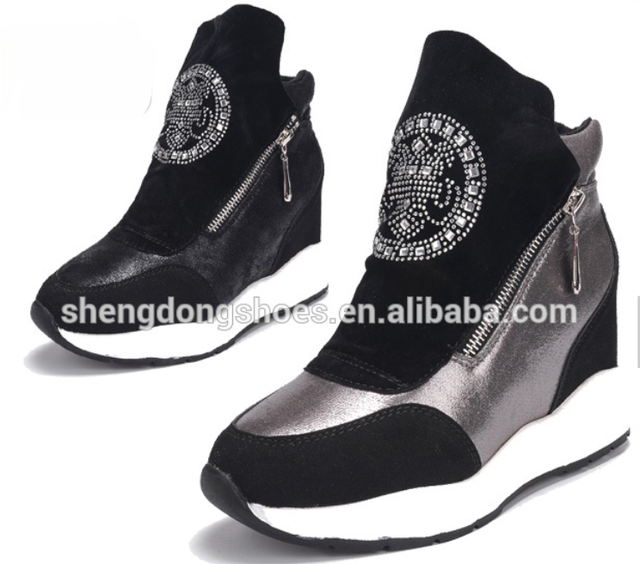 Latest New Fashion Shoes Ladies Shoes Hills 209 Factory - Buy High .