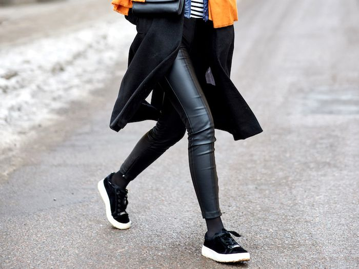 The 20 Best Faux-Leather Leggings of the Season | Who What We