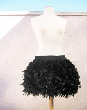 DIY-Feather BOA Skirt !!! For mayzie | Feather skirt, Diy ski