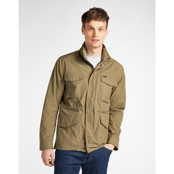 Field Jacket | Men - Jackets | Utility Green | Lee | Euro