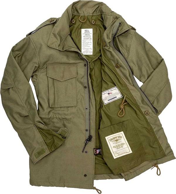 M65 Field Jacket | Men's Field Coat | M65 Military Jack